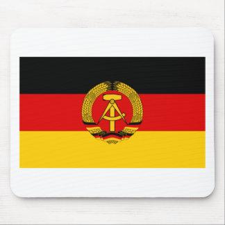 DDR German Democratic Republic Flag Mouse Pad