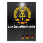 DDR shines Posters