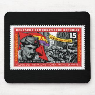 DDR stamp commemorating Hans Beimler Mouse Pad