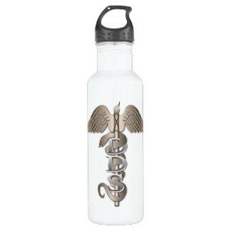 DDS Caduceus Stainless Steel Water Bottle