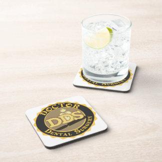 DDS DOCTOR DENTAL SURGERY LOGO DRINK COASTER
