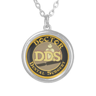 DDS DOCTOR DENTAL SURGERY LOGO NECKLACES