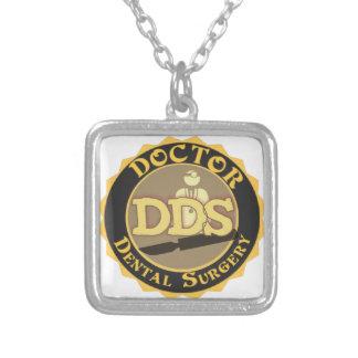 DDS DOCTOR DENTAL SURGERY LOGO PENDANT