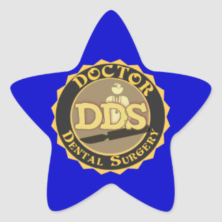 DDS DOCTOR DENTAL SURGERY LOGO STICKERS