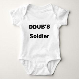 ddub soldier baby bodysuit