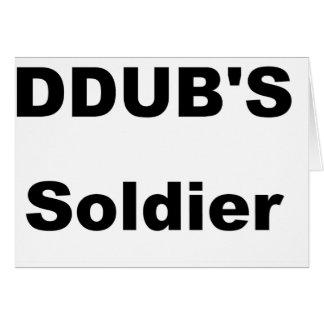 ddub soldier card