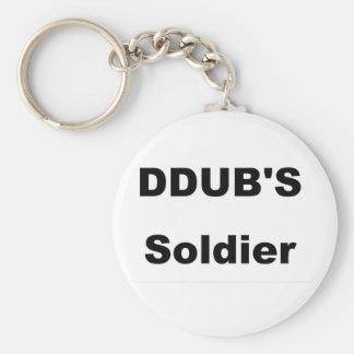 ddub soldier keychain