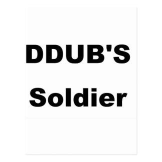 ddub soldier postcard