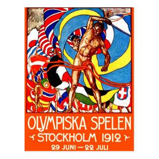 ~ de 1912 Juegos Olímpicos de Verano (el vintage Postal