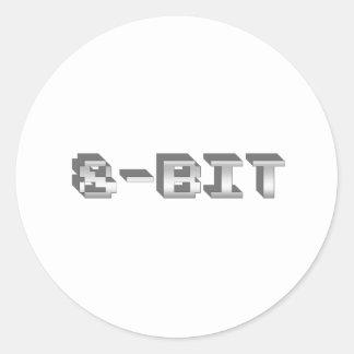 de 8 bits - videojugador, juego, videojuegos, jueg pegatinas