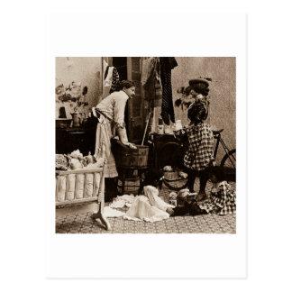 Dé a bebé su botella en 6 el vintage Stereoview Postales