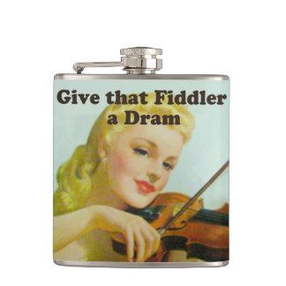 Dé a Fiddler un frasco de la copita Petaca