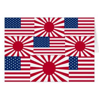¡DÉ A LA RECONSTRUCCIÓN DE LA AYUDA DE JAPÓN UNA N TARJETA DE FELICITACIÓN