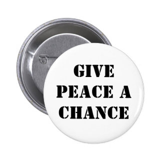 Dé a paz una oportunidad pins
