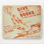 Dé a sus buenos libros el mousepad alfombrilla de ratón