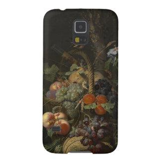 De Abraham todavía del Mignon vida con la fruta, Carcasas De Galaxy S5