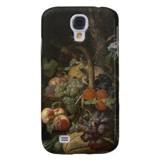 De Abraham todavía del Mignon vida con la fruta, l Funda Para Galaxy S4