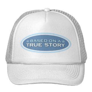 De acuerdo con un gorra verdadero del camionero de