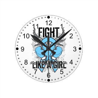 De Addison de la enfermedad lucha ultra como un ch Relojes De Pared