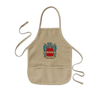 De-Albini Coat of Arms - Family Crest Kids' Apron