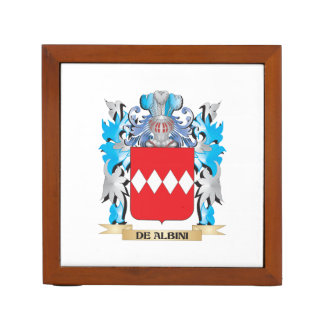 De-Albini Coat of Arms - Family Crest Pencil Holder