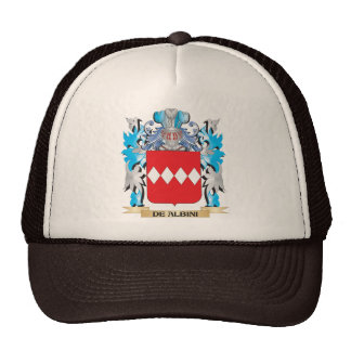 De-Albini Coat of Arms - Family Crest Trucker Hat