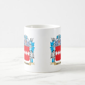De-Albini Coat of Arms - Family Crest Classic White Coffee Mug