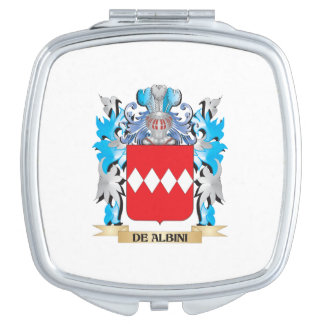 De-Albini Coat of Arms - Family Crest Mirror For Makeup