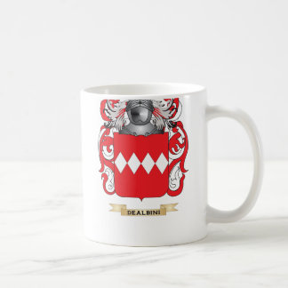 De Albini Coat of Arms Classic White Coffee Mug