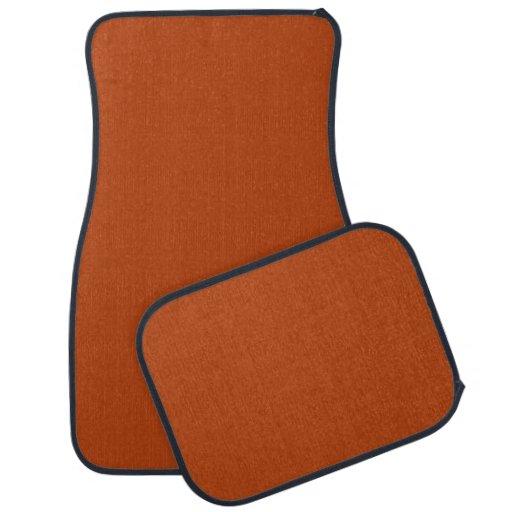 De alta calidad del moho coloreada alfombrilla de coche
