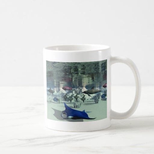 De alta mar tazas de café
