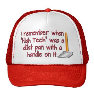 De alta tecnología gorras