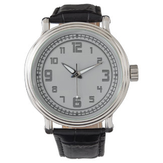 De alta tecnología reloj