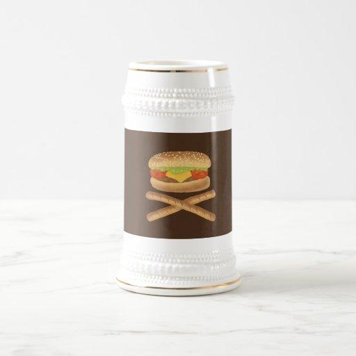 De alto grado en grasas tazas de café