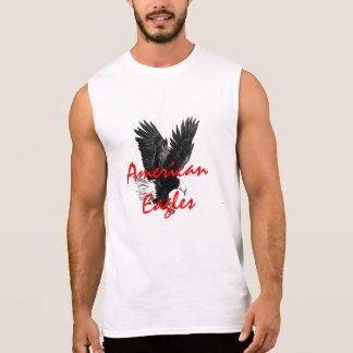 De American Eagle camiseta sin mangas del algodón