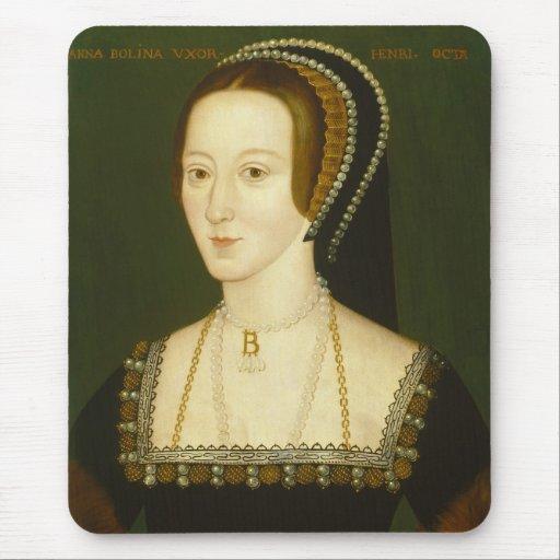 De Ana Bolena esposa en segundo lugar del retrato  Alfombrillas De Ratones