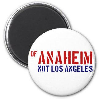 De Anaheim (no Los Ángeles) - muestre su orgullo Imán Redondo 5 Cm