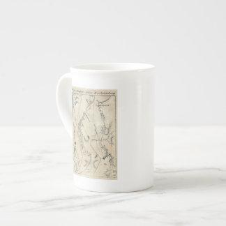 De Annapolis a Fredericksburg 68 Tazas De Porcelana