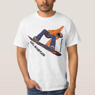 De Apex de la montaña camiseta del valor de la Camisas