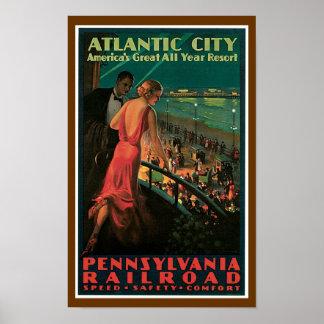~ de Atlantic City todo el centro turístico del añ Impresiones