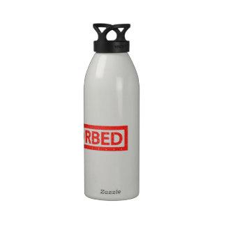 De auto-absorción botella de agua reutilizable