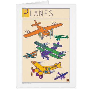 De Avión-Tarjeta