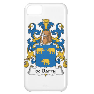 de Barry Family Crest Cover For iPhone 5C