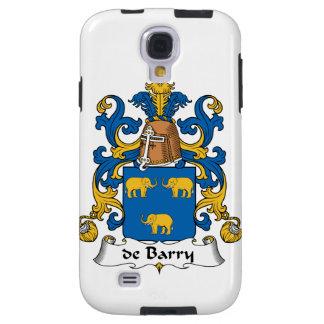 de Barry Family Crest Galaxy S4 Case