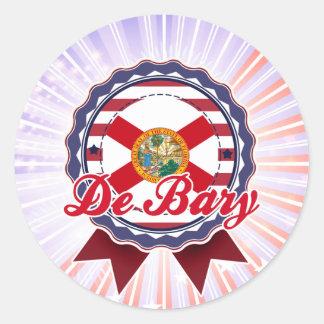 De Bary, FL Round Stickers
