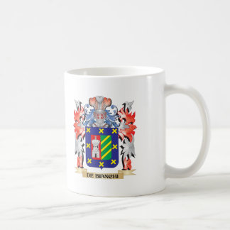 De-Bianchi Coat of Arms - Family Crest Coffee Mug
