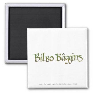 ™ de BILBO BAGGINS texturizado Imán Para Frigorifico