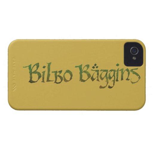 ™ de BILBO BAGGINS texturizado iPhone 4 Cárcasa