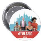 De Blasio for Mayor Pinback Button