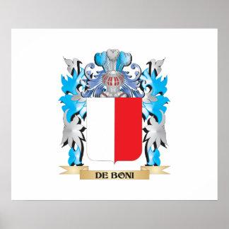 De-Boni Coat of Arms - Family Crest Poster